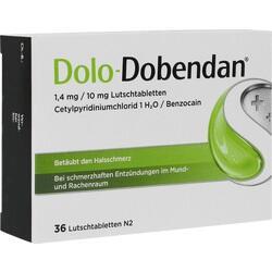 Abbildung von Dolo-dobendan 1.4mg 10 Mg Lutschtabletten
