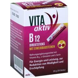 Abbildung von Vita Aktiv B 12 Direktsticks Mit Eiweißbausteinen  Beutel