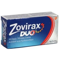 Abbildung von Zovirax Duo 50 Mg G   10 Mg G  Creme