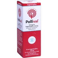 Abbildung von Pollival 0.5mg Ml Augentropfen Lösung