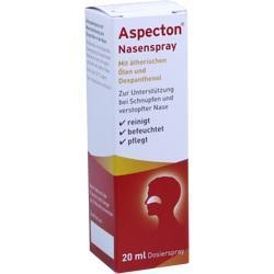 Abbildung von Aspecton Nasenspray(entspricht 1.5% Kochsalz-lös.)
