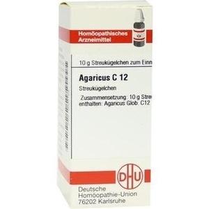 AGARICUS C 12 Globuli