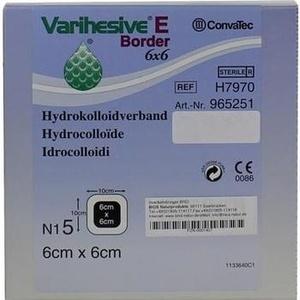 VARIHESIVE E Border 6x6 cm HKV hydroaktiv 965251