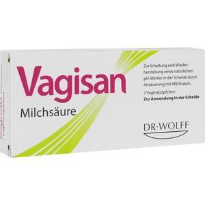Abbildung von Vagisan Milchsäure Vaginalzäpfchen
