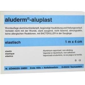 ALUDERM aluplast Wundverb.Pfl.4 cmx1 m elast.