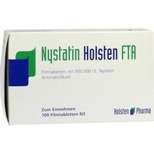 NYSTATIN Holsten FTA Filmtabletten