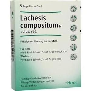 LACHESIS COMPOSITUM N ad us.vet.Ampullen