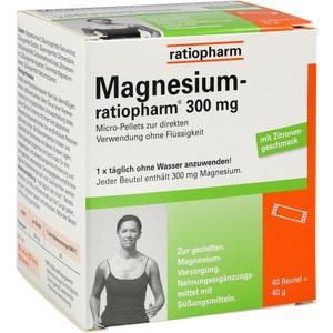 Magnesium-ratiopharm 300 mg Micro-Pellets Beutel