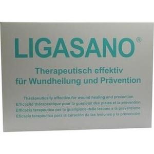 LIGASANO weiß Verband 2x10x15 cm steril