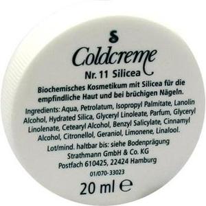 COLDCREME Nr.11 Silicea