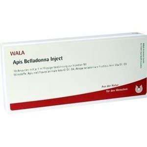 APIS BELLADONNA Inject Ampullen