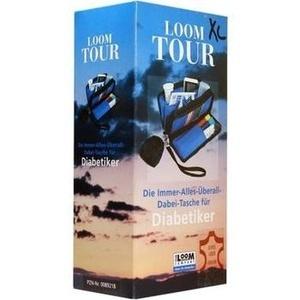 LOOM Tour XL milano Diabetikertasche Leder