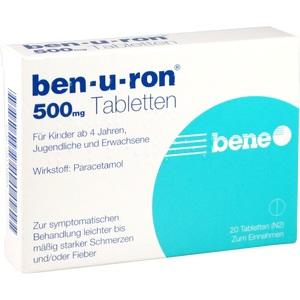 BEN-U-RON 500MG TABLETTEN