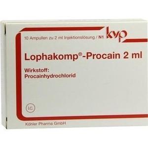LOPHAKOMP Procain 2 ml Injektionslösung