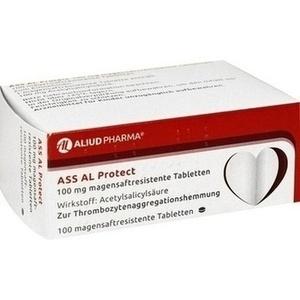 Abbildung von Ass Al Protect 100mg Magensaftresistente Tabletten