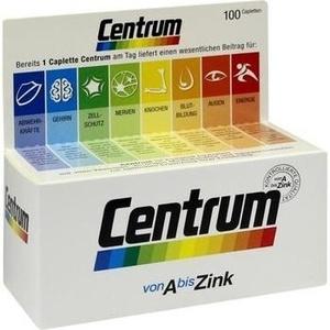 CENTRUM A-ZINK F-LUTEIN CP