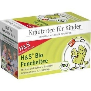 H&S Bio Fencheltee Mischung Filterbeutel