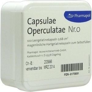 CAPSULAE Operculatae Kapseln Nr.0 0,68