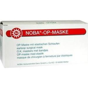 NOBA OP-Maske m.Gummibändern