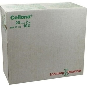 CELLONA Gipsbinden 20 cmx2 m