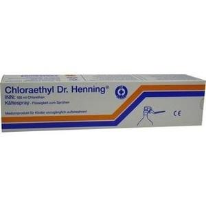 CHLORAETHYL Dr. Henning Hebelverschluss
