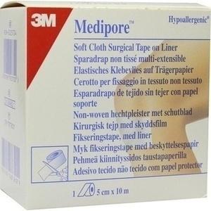 MEDIPORE Fixiervlies hypoallerg.5cmx10m 2991NP-1