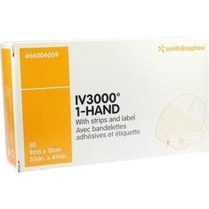 OPSITE IV 3000 9x12 cm transp.Kanülenfixier.