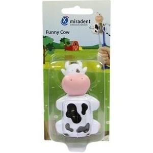MIRADENT Kinderzahnbürstenhalter Funny Kuh