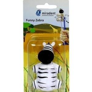 MIRADENT Kinderzahnbürstenhalter Funny Zebra