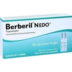Abbildung von Berberil N Edo  Augentropfen