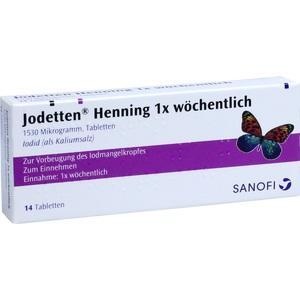 JODETTEN Henning 1x wöchentlich Tabletten