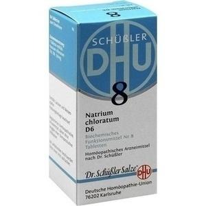 BIOCHEMIE 8 NATR CHLOR D 6