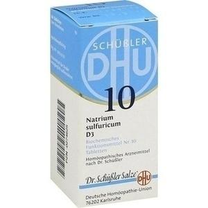 BIOCHEMIE 10 NATR SULF D 3