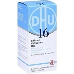 BIOCHEMIE 16 LITH CHL D12