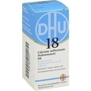 BIOCHEMIE 18 CALC SULF D 6