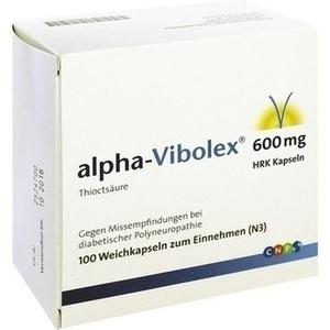 ALPHA VIBOLEX 600 mg HRK Weichkapseln