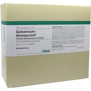 GELSEMIUM HOMACCORD Ampullen