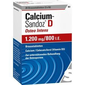 Calcium-Sandoz® D Osteo intens 1200mg/800I.E.