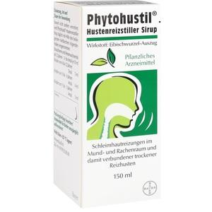 Abbildung von Phytohustil Hustenreizstiller Sirup
