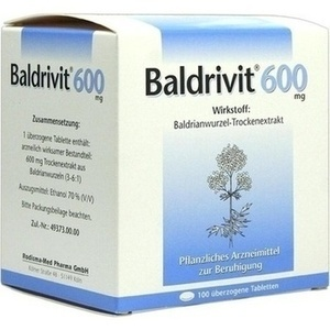 BALDRIVIT 600 mg überzogene Tabletten