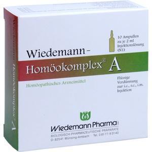 WIEDEMANN Homöokomplex A Ampullen