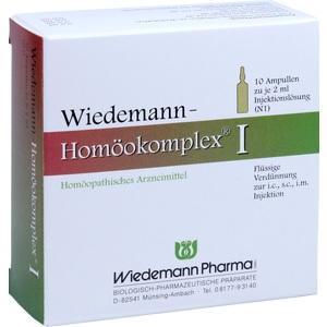 WIEDEMANN Homöokomplex I Ampullen