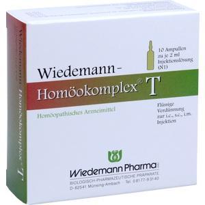 WIEDEMANN Homöokomplex T Ampullen