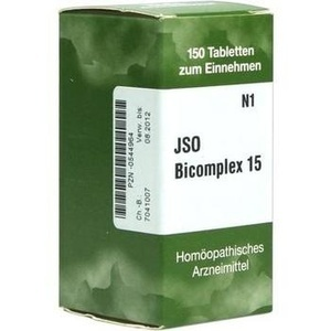 Jso Bicomplex Nr. 15 Tabletten