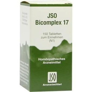 Jso Bicomplex Nr. 17 Tabletten