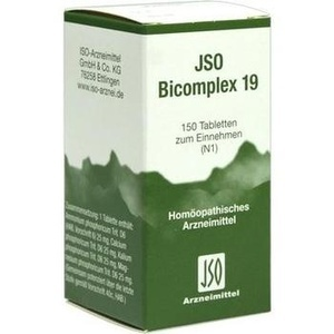 Jso Bicomplex Nr. 19 Tabletten