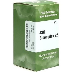 Jso Bicomplex Nr. 22 Tabletten