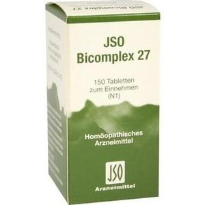 JSO-Bicomplex Heilmittel Nr.27