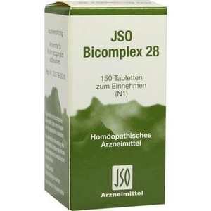 Jso Bicomplex Nr. 28 Tabletten