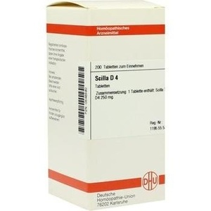 SCILLA D 4 Tabletten
